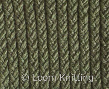 Stitch types on looms ~ This site explains different stitches and what the re...