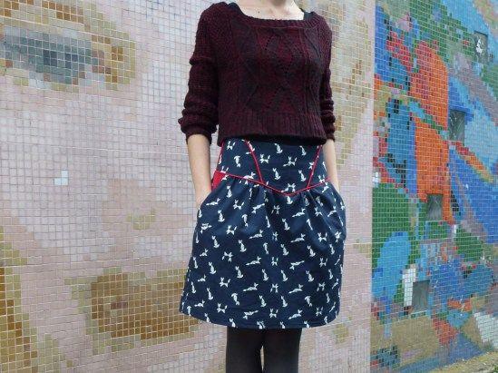 Crescent Skirt - Mousse