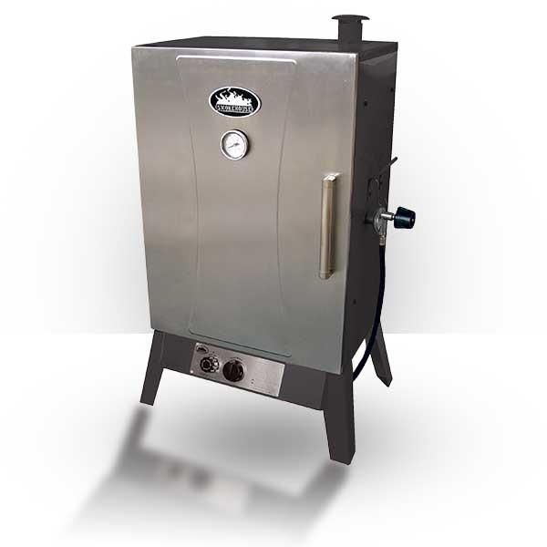 Buy Smokehouse Products propane smoker grill. The Wide Gas Smoker Cooker's extra large cooking is capable of smoking 60 LBS of food.