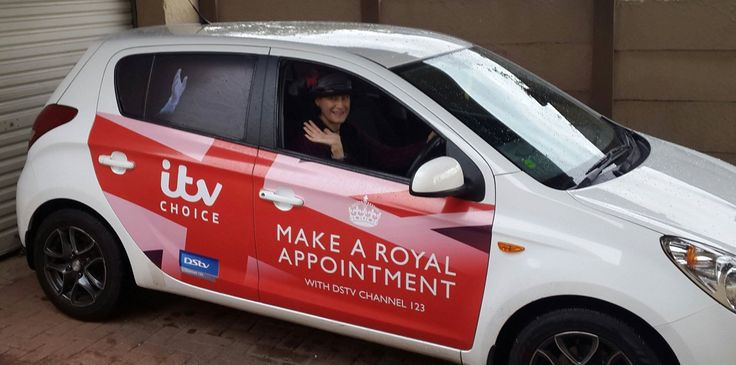 One of our #ITVChoice drivers getting paid to get the conversation started. #EarnExtraCash #BrandYourCar #Bucks4Influence
