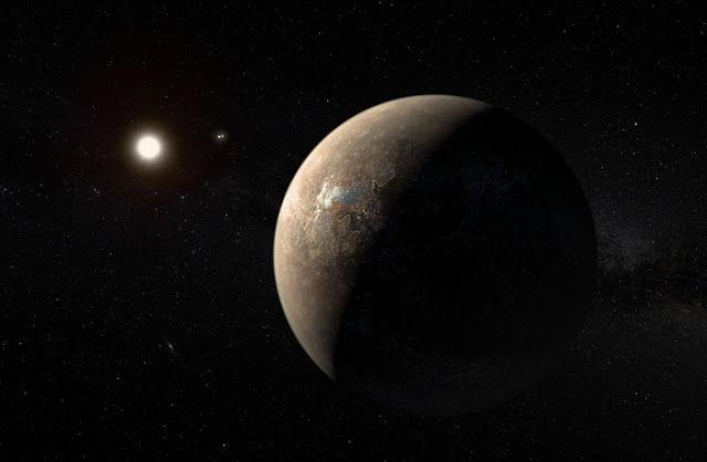 Ilustrasi planet asing Proxima b. Kredit: ESO/NASA/JPL-Caltech   SpaceNesia - Sekelompok astronom di Universitas Exeter mengatakan, mere...