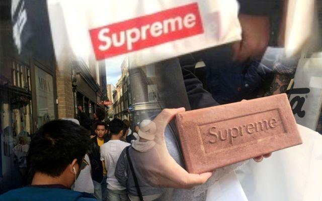 Batu bata Supreme 1000 dollar laris manis sebagai koleksi kekinian. Terjual di e-Bay dan tersedia di butik-butik di Inggris, batu bata ini menjadi koleksi.
