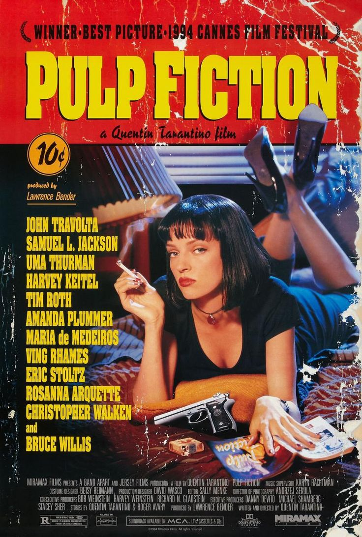 Pulp Fiction (1994) - FilmAffinity