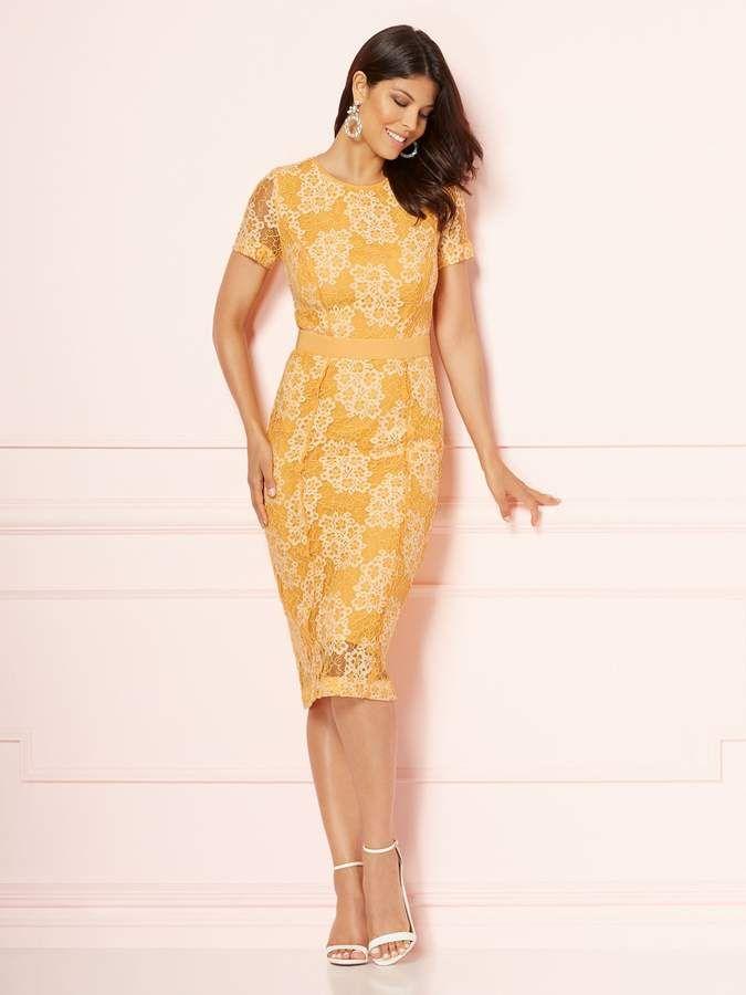 fc1190ccf46 Eva Mendes Collection - Romina Sheath Dress  seams Princess Invisible
