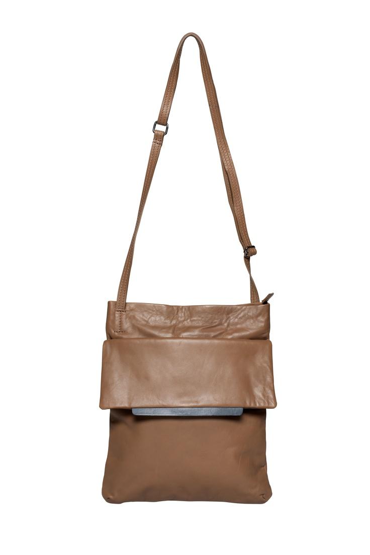 Rye Tab Bag in cocoa by Elk Accessories