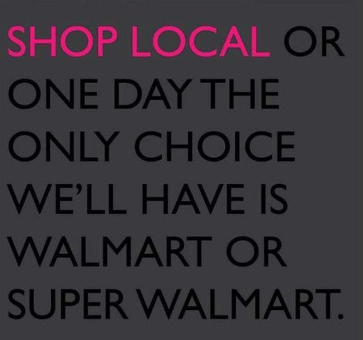 I am a firm believer to buy where you browse, don't showroom shop, and support your local retailers!