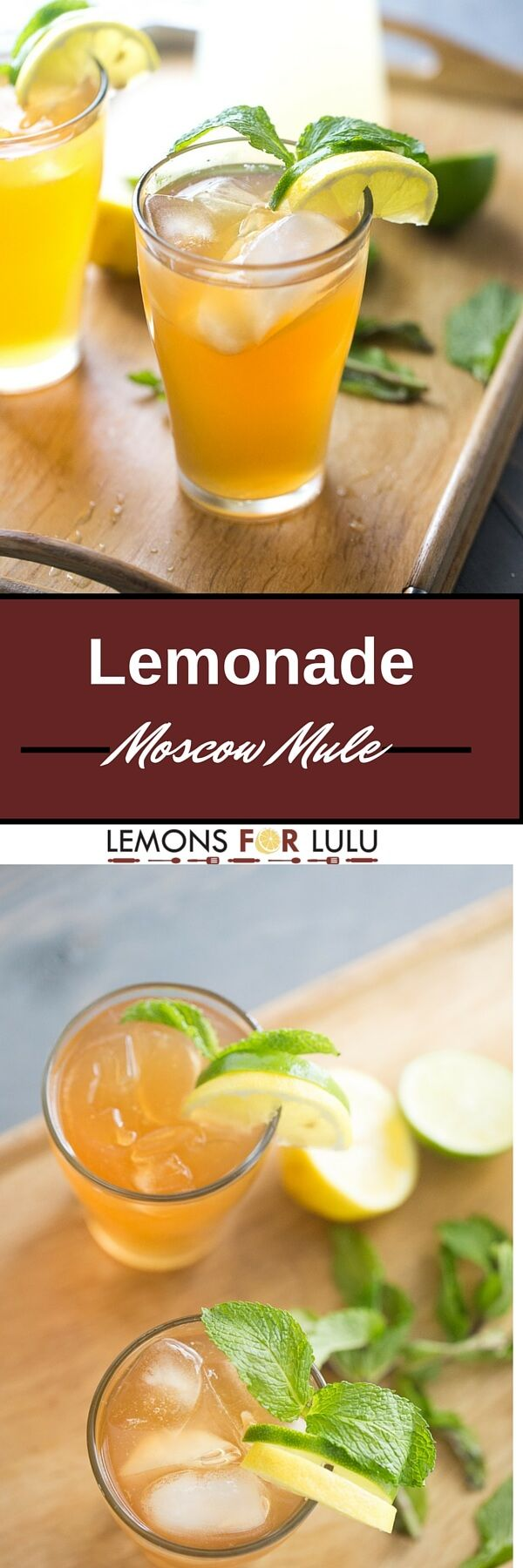 Lemonade Moscow Mule Cocktail | Recipe | Summer, Dr. oz and 1""