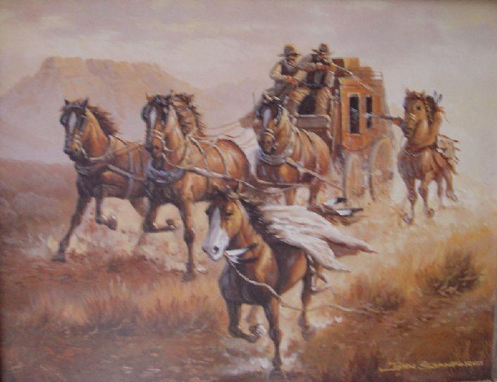Stagecoach Prints Bing Images Western Art Pinterest