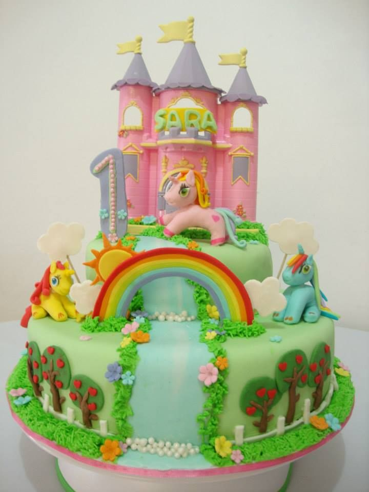 TORTA LITTLE PONY .
