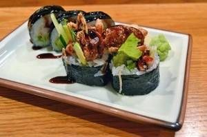 Spider Roll is listed (or ranked) 6 on the list The Most Delicious Types of Sushi Rolls