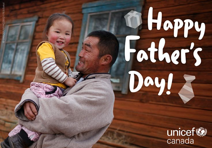 Happy Father's Day to dads around the world! Thanks for being our first hero.