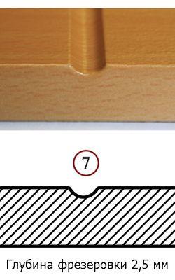 Различные виды фрезеровки фасадов стальных дверей | Стальные двери Бастион-С