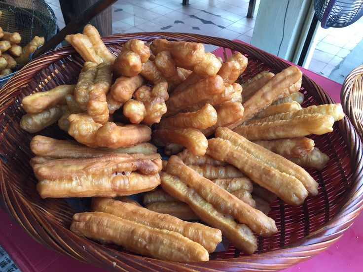 """Description 油炸鬼 or """"Yaw Char Kwai"""", the traditional Cantonese name for this snack literally means oil-fried ghost. Perhaps the name is associated to how sinful you will feel after consu…"""