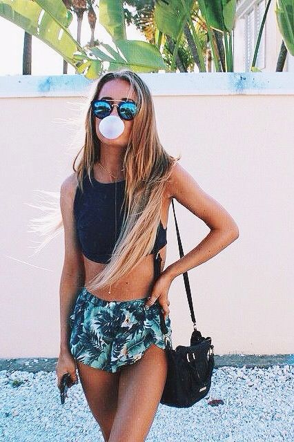 Flawless summer outfit.