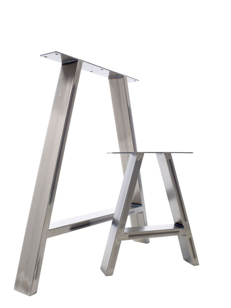 2 X Steel Table Legs / Desk Legs / Bench Legs   Industrial Splayed U0027Au0027  Design In Home, Furniture U0026 DIY, Furniture, Tables, Table Parts U0026  Accessories