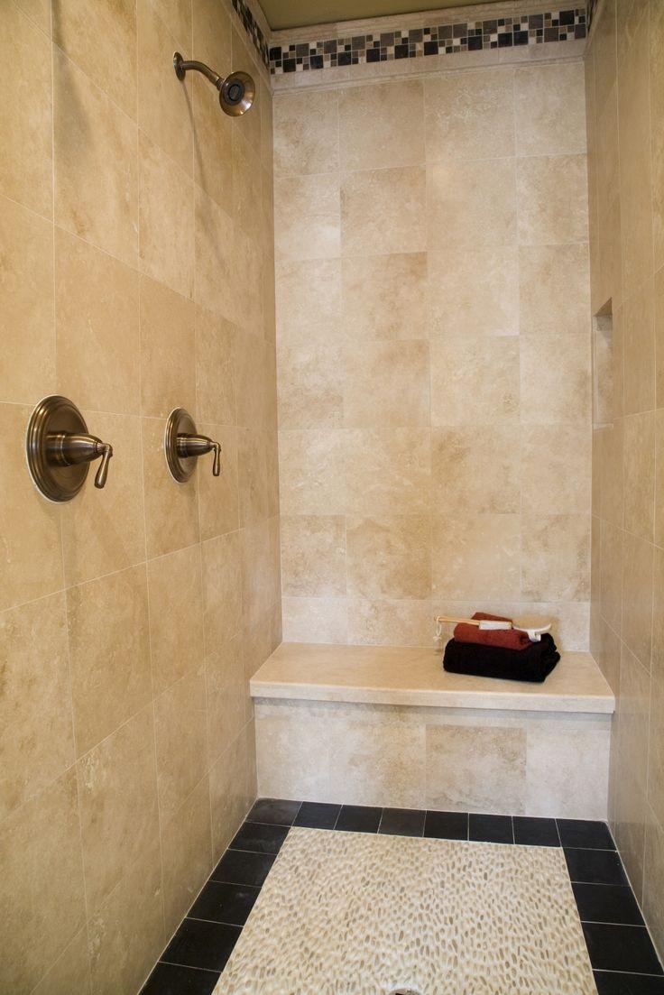 36 Best Doorless Shower Images On Pinterest Bathroom