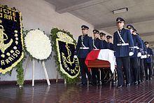 Augusto Pinochet - Pinochet's funeral