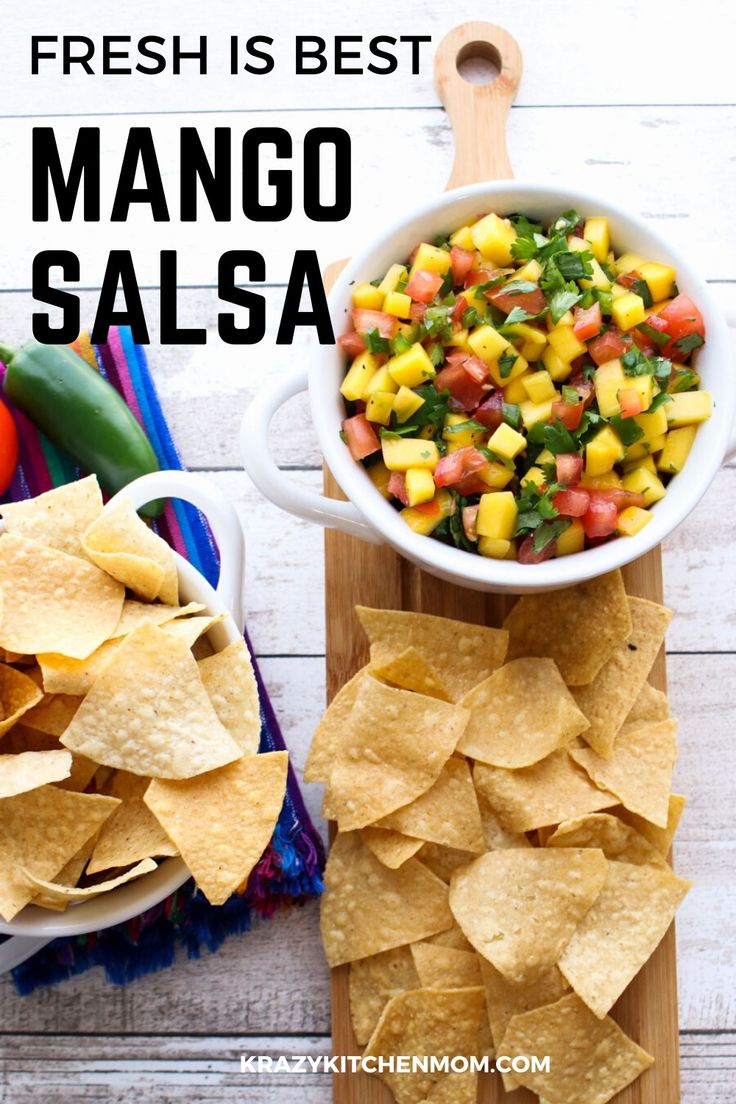 It's mango season! This fresh sweet and savory salsa will tickle your tastebud and brighten any table. It's fresh, easy…