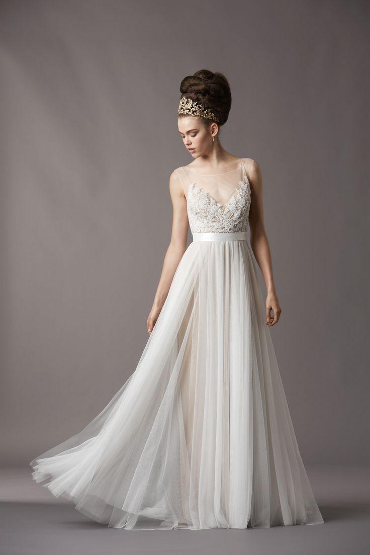 Watters Bridal Gowns Fall 2013 Wedding Dress 4061B | OneWed.com