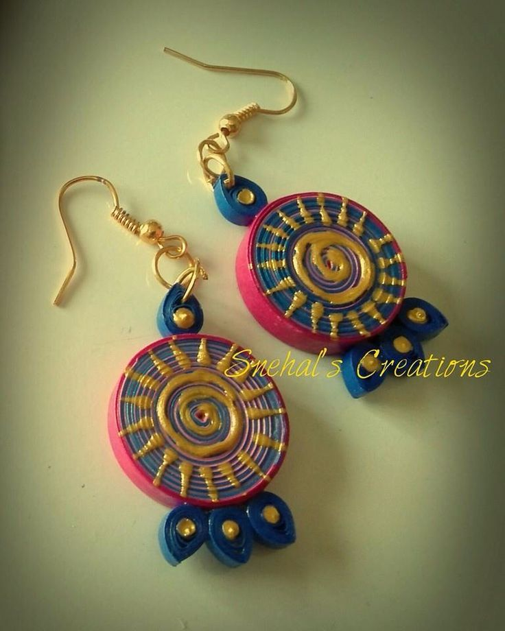 Quiling ear ring