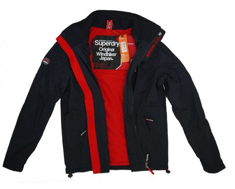 Superdry Mens Polar Windhiker Fleece Lined Jacket – Moyheeland Traders