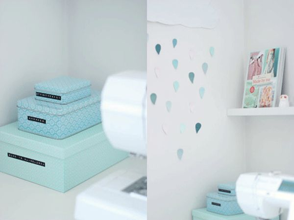 10 cute home office storage ideas home office for Cute home office ideas