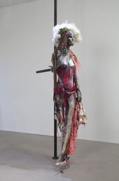 "Stewart Uoo, ""Don't Touch Me (Bikrahm Yoga),"" 2012"