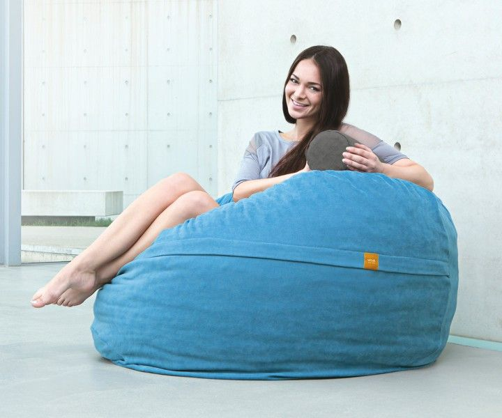 die besten 25 sitzsack xxl ideen auf pinterest sitzsack. Black Bedroom Furniture Sets. Home Design Ideas
