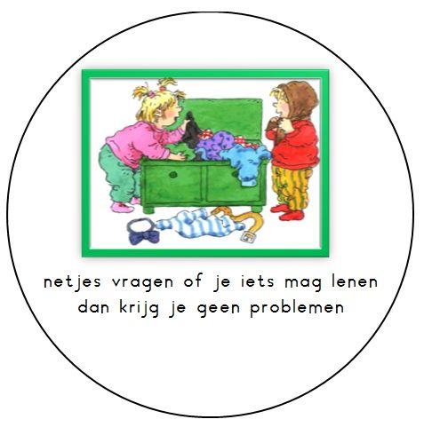 Kleuterjuf in een kleuterklas: Regels in de klas | Dagmar Stam