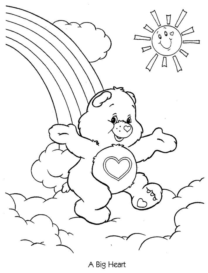 Care Bears 24 Coloring Page For Kids And Adults From Cartoons Pages The