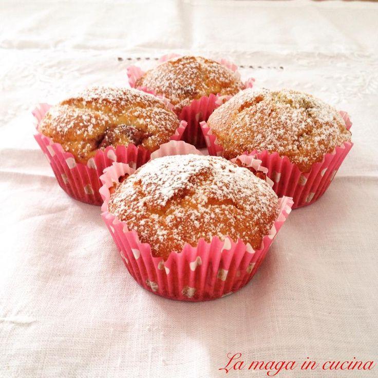 Muffin ricotta e fragoline senza glutine