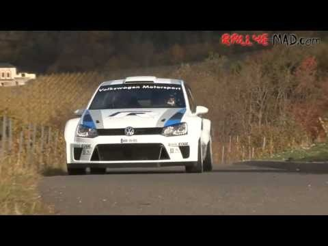 VW Polo WRC looks mighty tasty getting ready for the 2013 World Rally Championships.