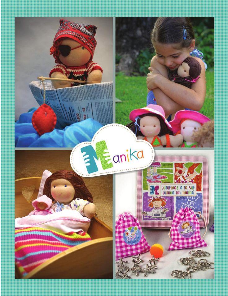 Catalogo completo Manika 2015  Catálogo de Juguetes Manika.  Juegos de mesa y muñecas Waldorf