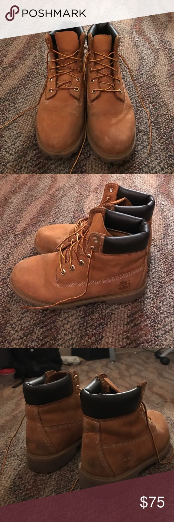 Timberland boot Women's 8 men's 6 timberland boot in great condition, I just don't wear them much! Timberland Shoes