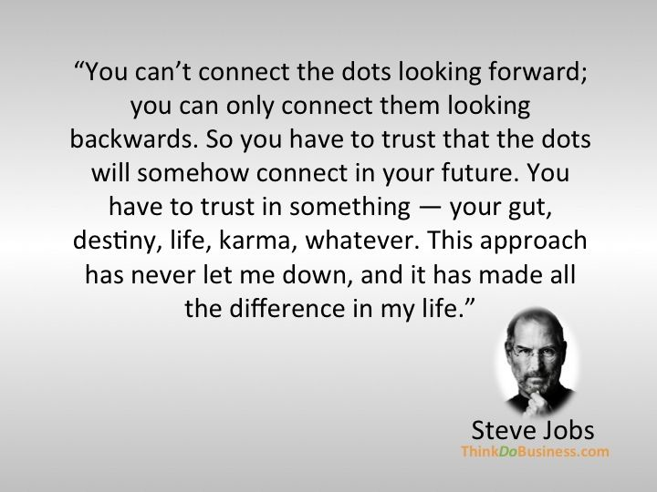 Steve Jobs on Seeing The Big Picture