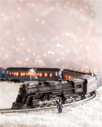 Traditional Christmas Vintage Inspired Polar Express Toy Train - Decorate For The Holidays On Sale Now
