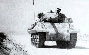 Early M10 Tank Destroyer from the U.S. 899th Tank Destroyer Battalion.