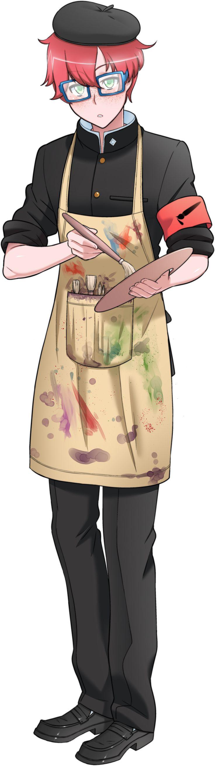 Geiju Tsuka - Art Club Leader