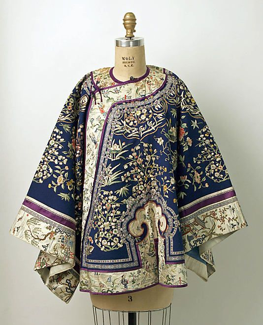 The Metropolitan Museum of Art - Qing Dynasty Embroidered Jacket | www.recollectvintage.com