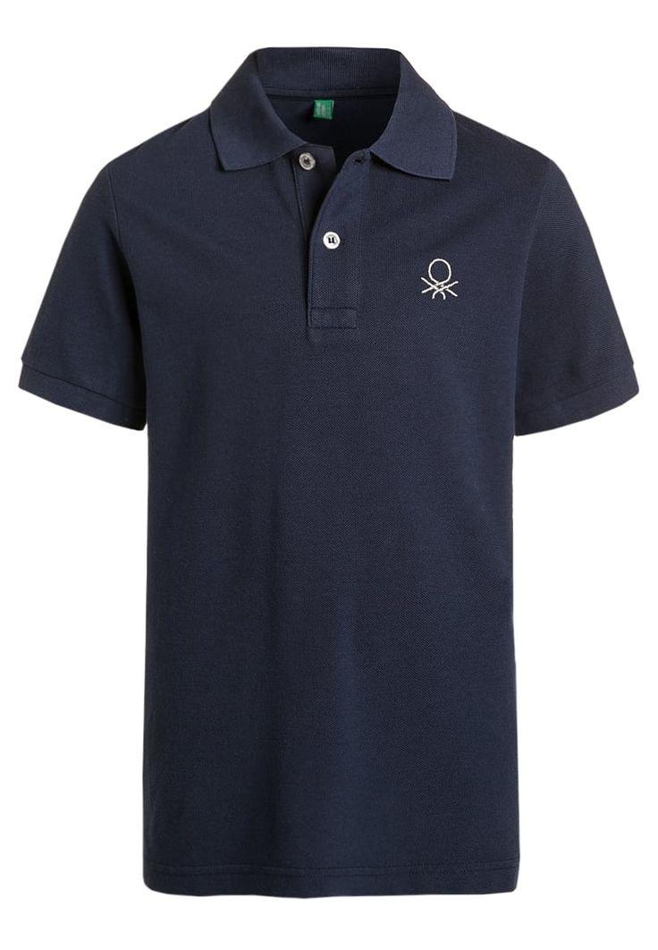 Benetton Poloshirt - dark blue - Zalando.be