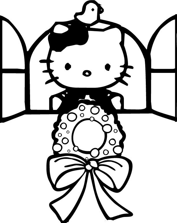 coloring pages hello kitty summer clothes | Hello Kitty Arts: a collection of ideas to try about Art ...