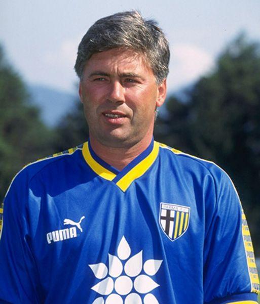 Carlos Ancelotti #Joueur #Entraineur #Throwback #ParmaFC #Puma #9ine @Parma