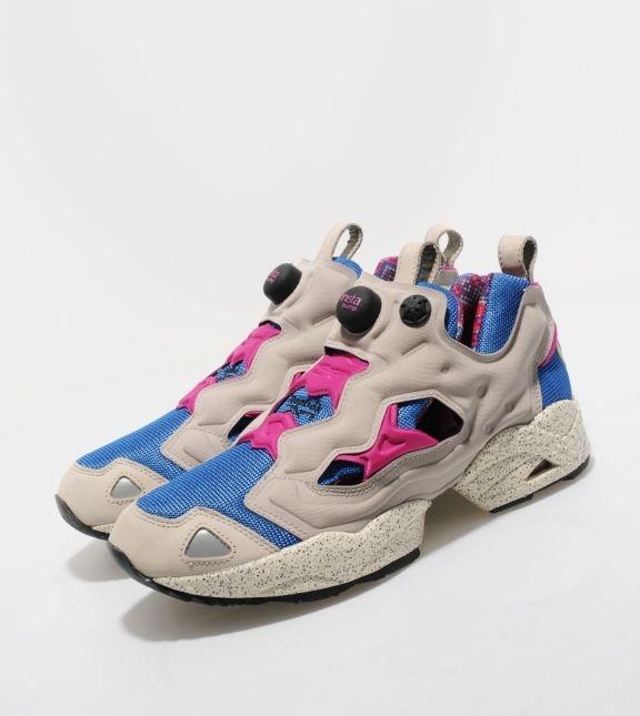 Reebok Pump Fury - Grey/Pink/Blue