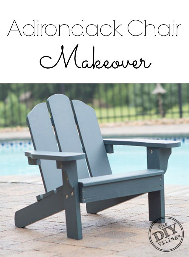 Adirondack Chair Makeover #UpToTheTest. Diy ExteriorExterior Wood StainWoodworking  ... Part 76