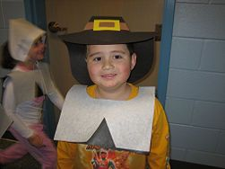 Make a Pilgrim Costume