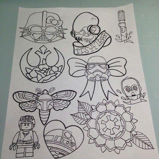 Disney Character Design Apprentice : Best star wars tattoo ideas on pinterest