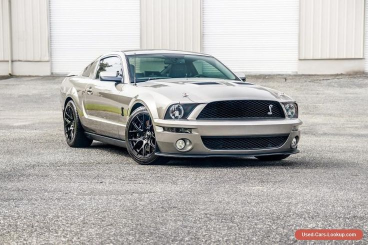 2008 Ford Mustang Shelby GT500 Coupe 2-Door #ford #mustang #forsale #unitedstates