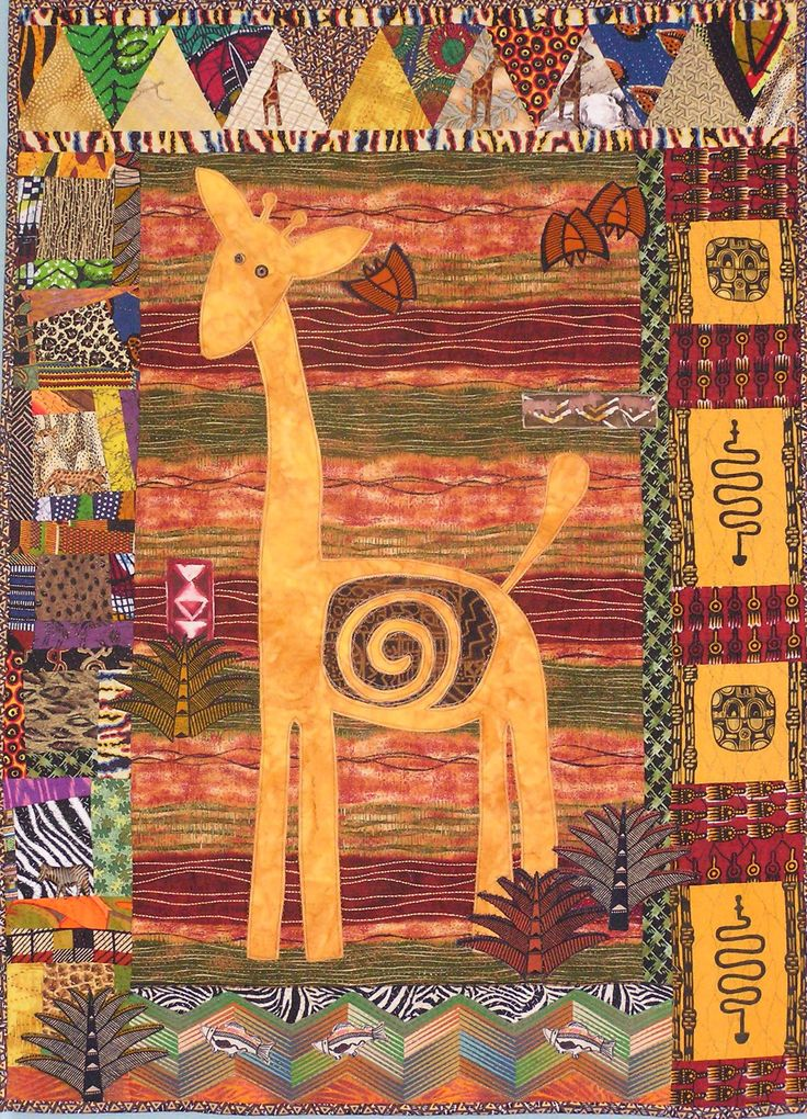 Giraffe by Barbara Kavermann