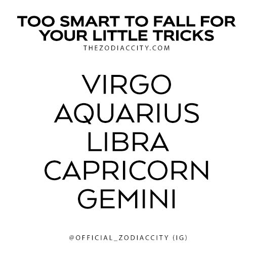 TheZodiacCity - Get Familiar With Your Zodiac Sign | These Zodiac Signs Are A Little Smarter Than You |...