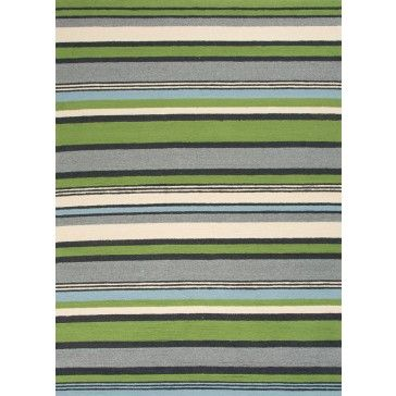 """Bring visual """"pop"""" to outdoor living with the Colours I-O Collection. This energetic range of stripe, zigzag and stair-step designs bring together a myriad of multicolor palettes – all in durable, hand-hooked polypropylene construction."""